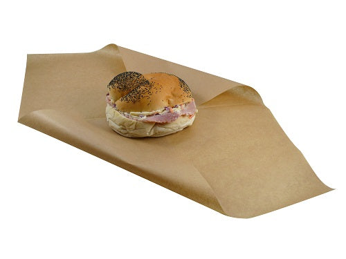 400x450mm Brown Greaseproof Paper Sheets - GM Packaging (UK) Ltd