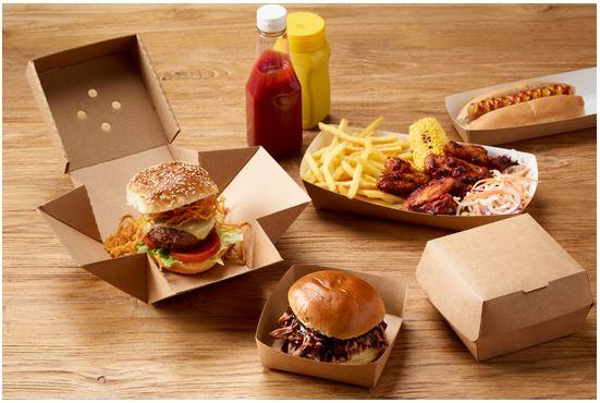 Corrugated Premium Burger Box - GM Packaging (UK) Ltd