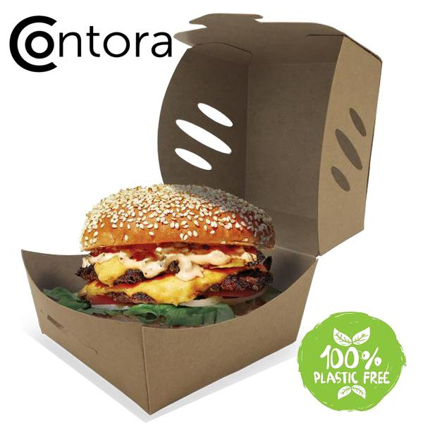 Contora large burger box - GM Packaging UK Ltd
