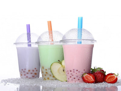 12 oz Smoothie Cups with Lids - GM Packaging (UK) Ltd