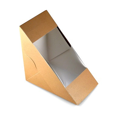 Deep Fill Paper Sandwich Wedges - GM Packaging UK Ltd