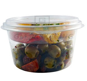 8oz Round Plastic Deli Pots - GM Packaging (UK) Ltd