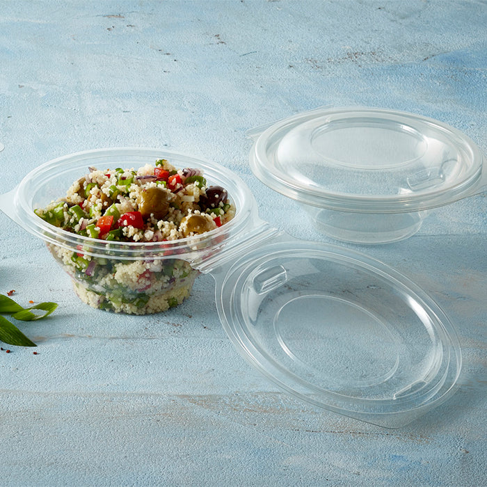 250cc Contour Salad Plastic Bowls - GM Packaging (UK) Ltd