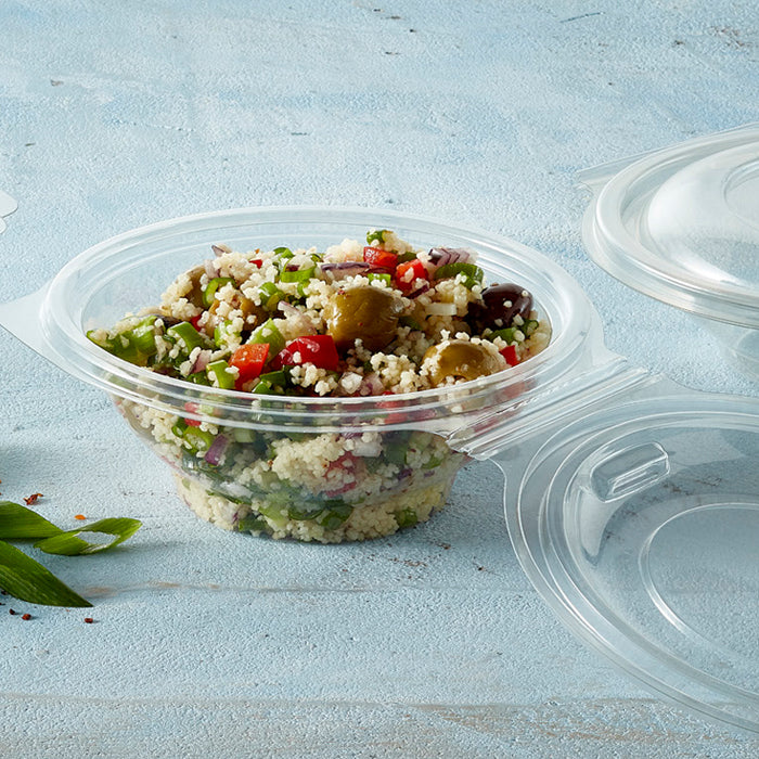 375cc Contour Salad Plastic Bowls - GM Packaging (UK) Ltd