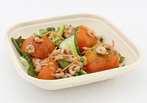 750ml Pulp Square Bowls - GM Packaging UK Ltd