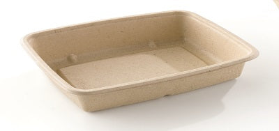 600ml Rectangular Pulp Container - GM Packaging (UK) Ltd