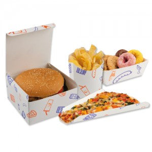 Ssupa Snax Paper Pizza Slice Wedges - GM Packaging UK Ltd