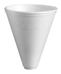 12oz Polystyrene Chips Cones - GM Packaging (UK) Ltd