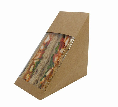 Deep Fill Cardboard Sandwich Wedges - GM Packaging (UK) Ltd