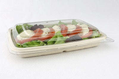 Lid to fit 600ml/950ml Pulp Flat Tray - GM Packaging (UK) Ltd
