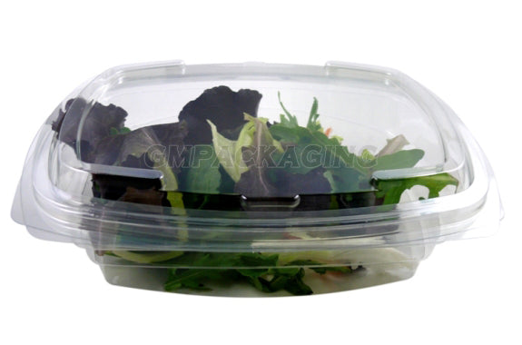 750cc FRESCO Hinged Oval Salad Container