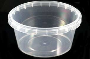 180ml Tamperproof Containers and Lids/500s - GM Packaging (UK) Ltd