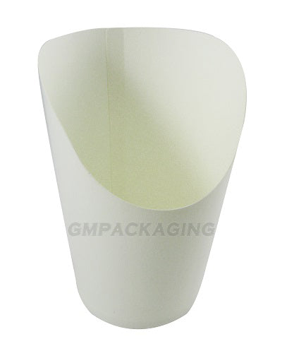 White Paper Snack Cup - GM Packaging (UK) Ltd