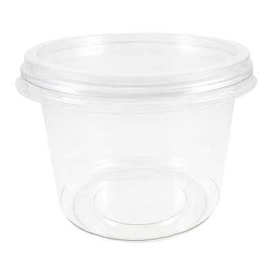 Flat Lids to fit round deli pots - GM Packaging (UK) Ltd