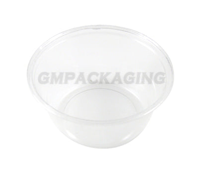 1.25oz Clear Plastic Round Dip Pots - GM Packaging (UK) Ltd