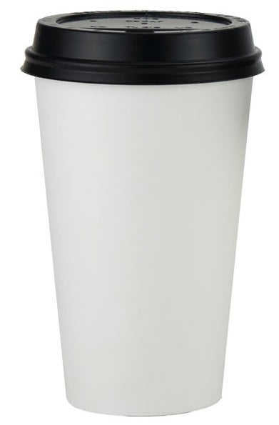 16oz White Paper Coffee Cups - GM Packaging (UK) Ltd