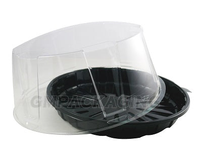 160x20mm Black Base Cake Container - GM Packaging (UK) Ltd