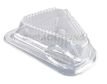 Cheesecake Slice Container with SPORK