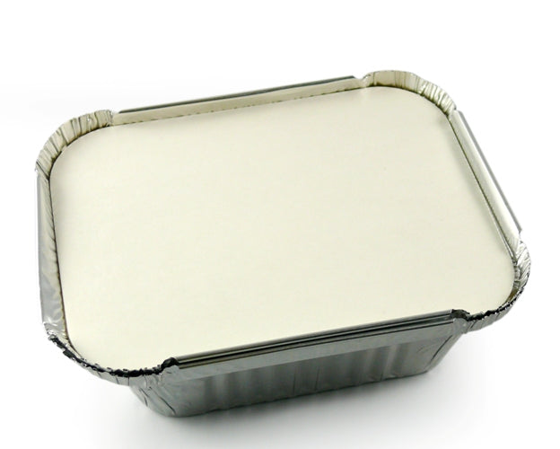 Paper Lid  for No.2 Foil Containers - GM Packaging (UK) Ltd