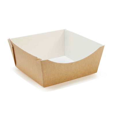 Square Kraft Taste Food Trays - GM Packaging (UK) Ltd