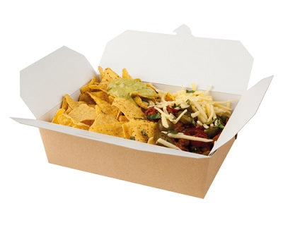 Large Rectangular Kraft Food Box - GM Packaging (UK) Ltd