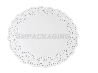 "6.5"" Paper Round Doilies - GM Packaging (UK) Ltd"