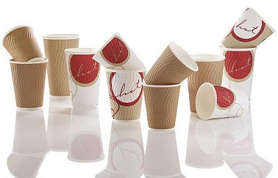 16oz 'Cuppoccino' Paper Coffee Cups - GM Packaging (UK) Ltd