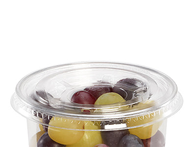Flat lid to fit sundae cups - GM Packaging UK Ltd