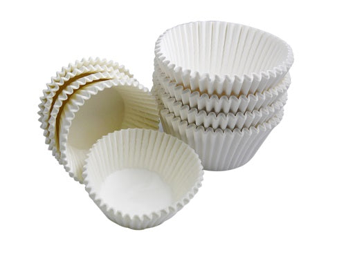 51x38mm  White Muffin Cases - GM Packaging (UK) Ltd