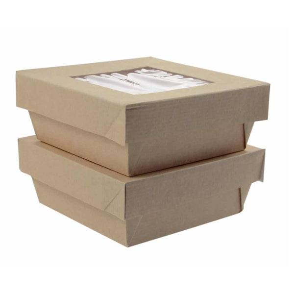 141.3x141.3x25mm Hot Box Lid - GM Packaging (UK) Ltd