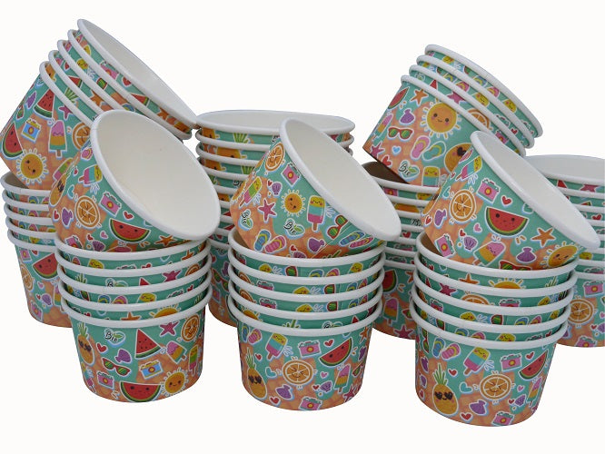 5oz Compostable Ice Cream Tubs/1000s - GM Packaging (UK) Ltd