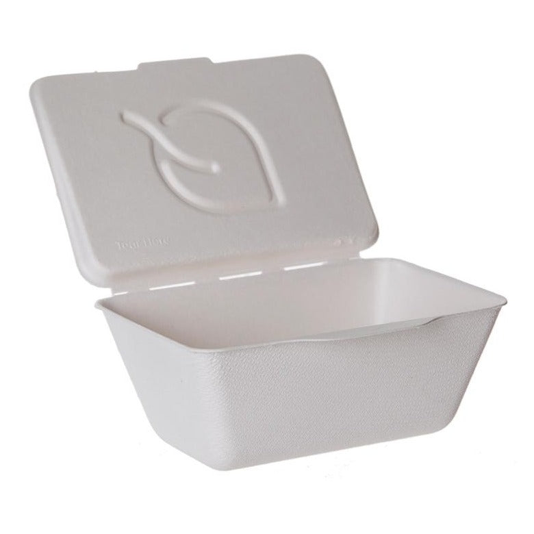 355ml Folia™ Sugarcane Takeaway Containers - GM Packaging (UK) Ltd