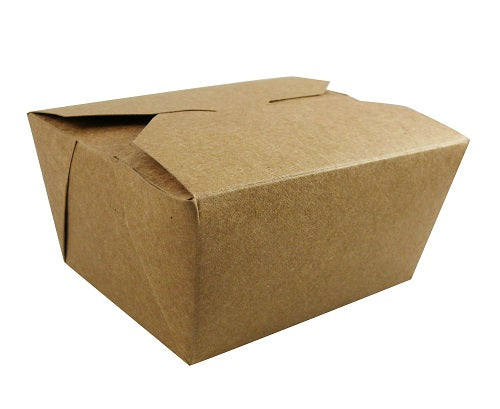 Plastic Free Brown Kraft Food Boxes #1 - GM Packaging (UK) Ltd