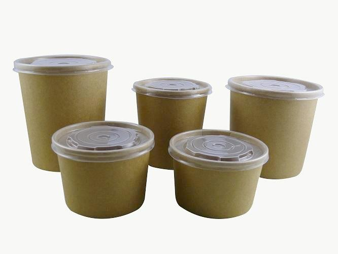 kraft soup containers - GM Packaging UK Ltd
