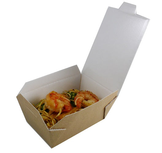 17.6oz Carryout Box without window - GM Packaging (UK) Ltd