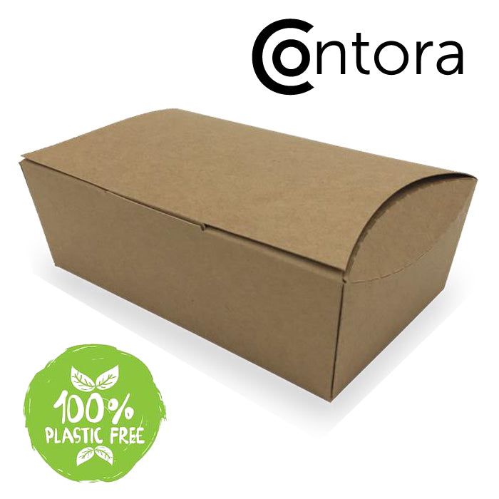 Large Food Box with dip pot holder - GM Packaging (UK) Ltd
