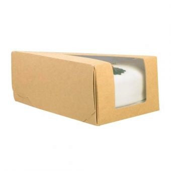 Kraft single cake slice wedge - GM Packaging UK Ltd