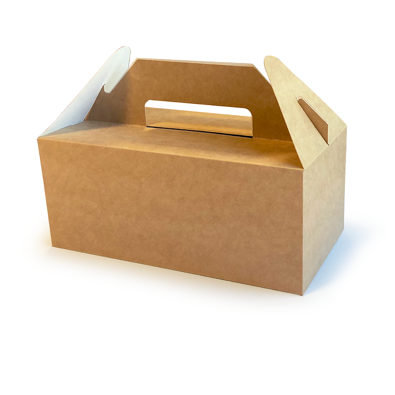 Kraft carry out box - GM Packaging UK Ltd