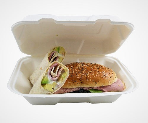 9x6 inch Biodegradable Food Boxes - GM Packaging (UK) Ltd