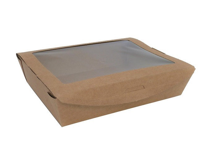 Plastic Free Large Salad Boxes - GM Packaging (UK) Ltd