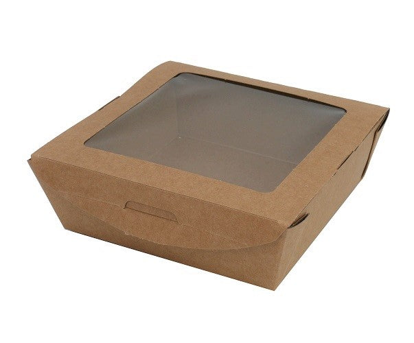 Plastic Free Medium Salad Boxes - GM Packaging (UK) Ltd