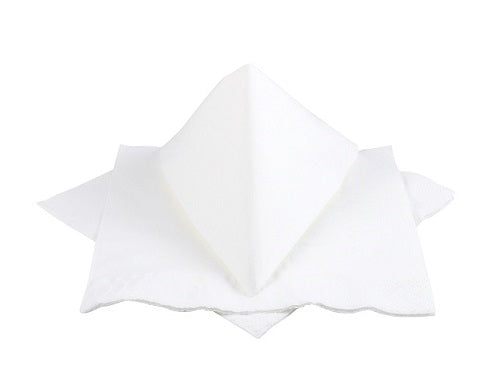 2 Ply White Napkins - GM Packaging (UK) Ltd
