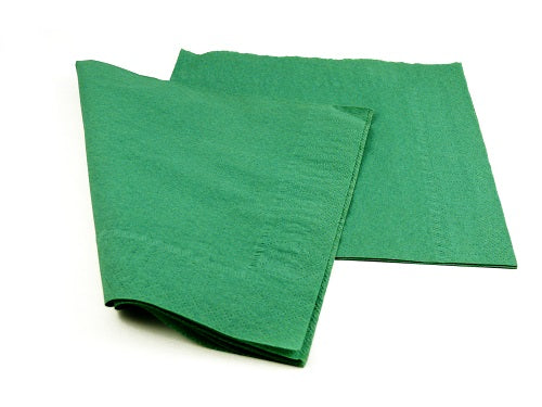2 Ply Forest Green Napkins - GM Packaging (UK) Ltd