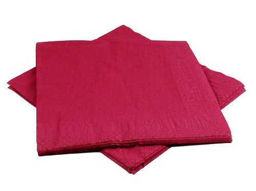 2 Ply Bordeaux Napkins - GM Packaging (UK) Ltd