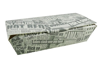 Medium Newprinted Fish and Chip Boxes - GM Packaging (UK) Ltd