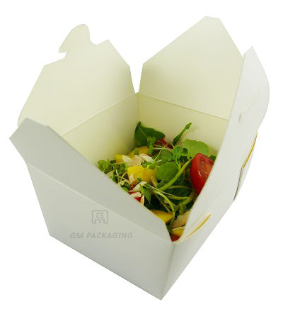 White paper food boxes no. 1 - GM Packaging (UK) Ltd