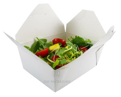 White paper food boxes no. 3 - GM Packaging (UK) Ltd