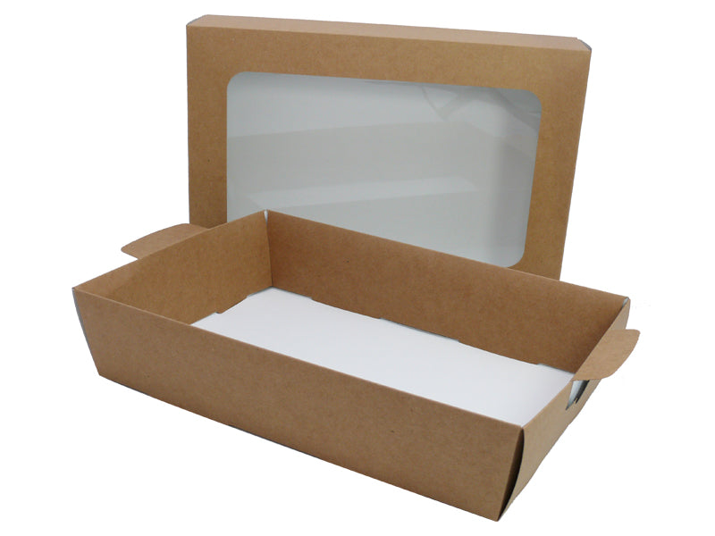 Kraft Large Platter BASE - GM Packaging (UK) Ltd