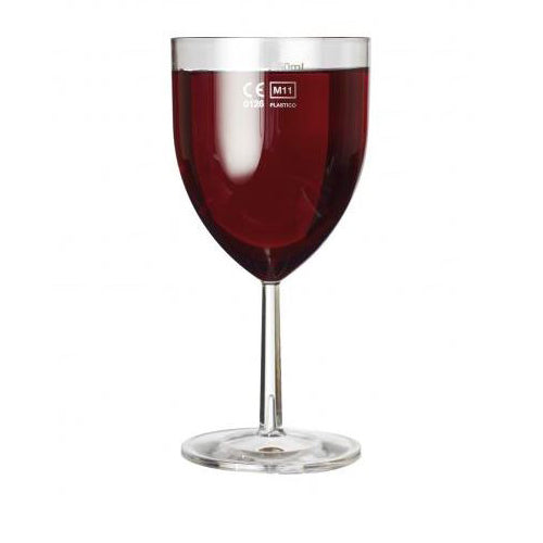 Wine Glass CE Marked 250ml to line - GM Packaging (UK) Ltd