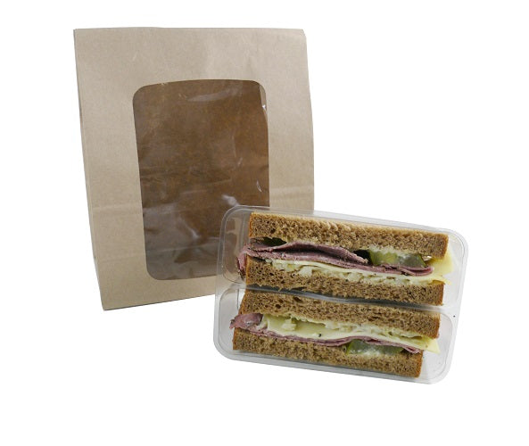 sandwich kraft bags with trays - GM Packaging UK Ltd